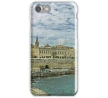 Old fortress in Valletta iPhone Case/Skin
