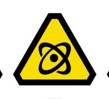 Danger signs Sticker