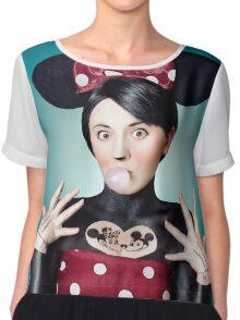 Minnie Mouse Chiffon Top