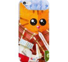Sick Cat iPhone Case/Skin