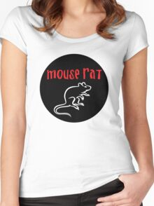 Mouse Rat Circle Women's Fitted Scoop T-Shirt