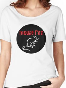 Mouse Rat Circle Women's Relaxed Fit T-Shirt