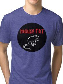 Mouse Rat Circle Tri-blend T-Shirt