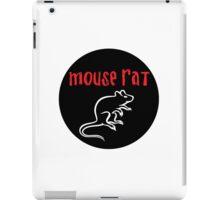 Mouse Rat Circle iPad Case/Skin
