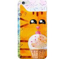 Cat and Ice Cream iPhone Case/Skin
