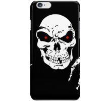 Death in the shadows iPhone Case/Skin