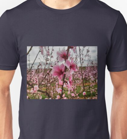 Peach Blossoms Unisex T-Shirt