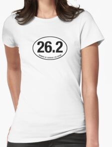 26.2 - EURO STICKER Womens Fitted T-Shirt