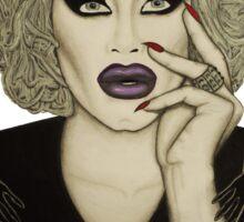 Sharon Needles Nosferatu Drawing Sticker