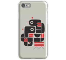 Two lovers, one bench iPhone Case/Skin