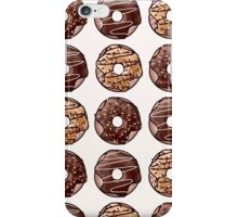 Chocolate Donuts Pattern iPhone Case/Skin