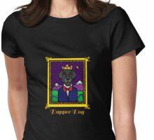 Dapper Dog Womens Fitted T-Shirt