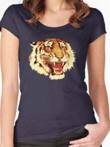 Tiger Circus Women's Fitted Scoop T-Shirt