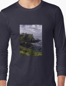 Dunluce Coastal View Long Sleeve T-Shirt