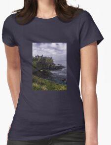 Dunluce Coastal View Womens Fitted T-Shirt