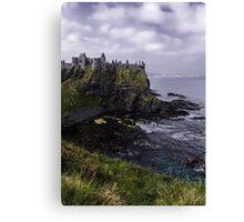 Dunluce Coastal View Canvas Print