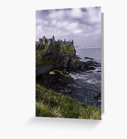 Dunluce Coastal View Greeting Card