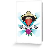 el ammo bandito  Greeting Card