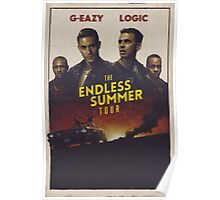 The Endless Summer Tour Poster Poster