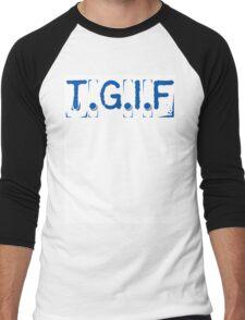 T.G.I.F Men's Baseball ¾ T-Shirt