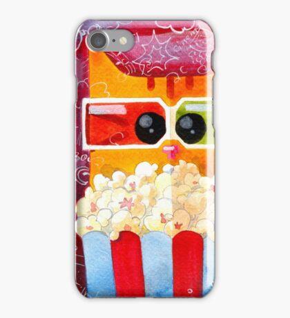 Cat in Cinema iPhone Case/Skin