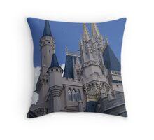 Castle Magic Throw Pillow