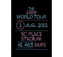 1st August - BC Place Stadium Photographic Print