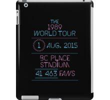 1st August - BC Place Stadium iPad Case/Skin