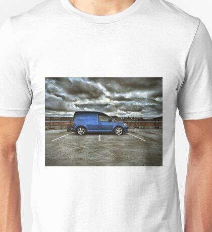 Moody VW Caddy in Belfast:) Unisex T-Shirt