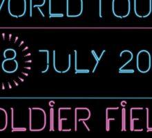 18th July - Soldier Field Sticker