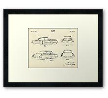 Automobile-1951 Framed Print