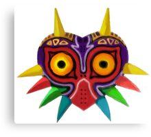 Watercolour majora's mask Canvas Print