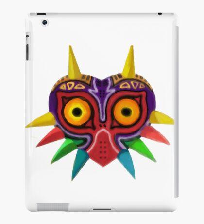 Watercolour majora's mask iPad Case/Skin