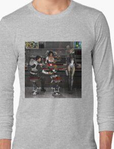 Vintage Sci-Fi 5 Long Sleeve T-Shirt