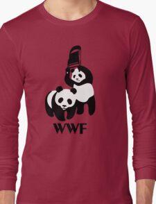 WWF Parody Panda Long Sleeve T-Shirt