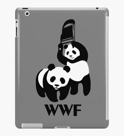 WWF Parody Panda iPad Case/Skin