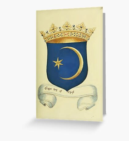 Historical coat of arms Greeting Card
