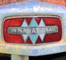 International Rust Sticker