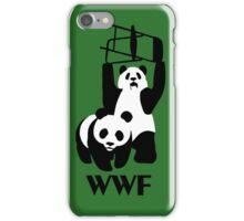 WWF Parody Panda - Tshirt iPhone Case/Skin