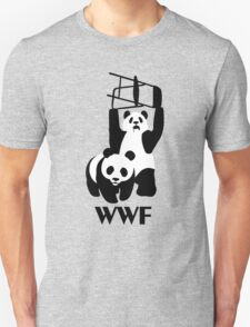 WWF Parody Panda - Tshirt T-Shirt