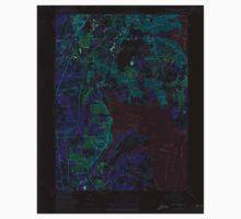 USGS TOPO Map Rhode Island RI East Greenwich 353282 1957 24000 Inverted Kids Tee