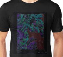 USGS TOPO Map Rhode Island RI East Greenwich 353282 1957 24000 Inverted Unisex T-Shirt