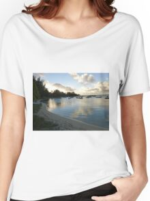 Beach in Mauritius Women's Relaxed Fit T-Shirt