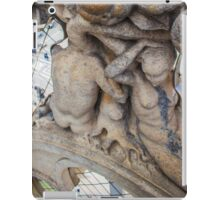 sculptures looking to the plaza. iPad Case/Skin