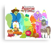 Princesses of Adventure Time! Metal Print