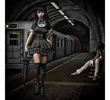 Eva Von Dark Photographic Print