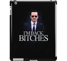 Jim Moriarty - I'm Back (BBC SHERLOCK) iPad Case/Skin