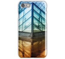 Louvre Pyramids Paris III iPhone Case/Skin