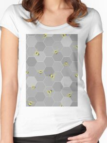 Busy Bees Women's Fitted Scoop T-Shirt