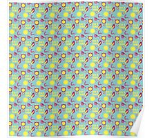 Early Bird Pattern by Holly Shropshire Poster